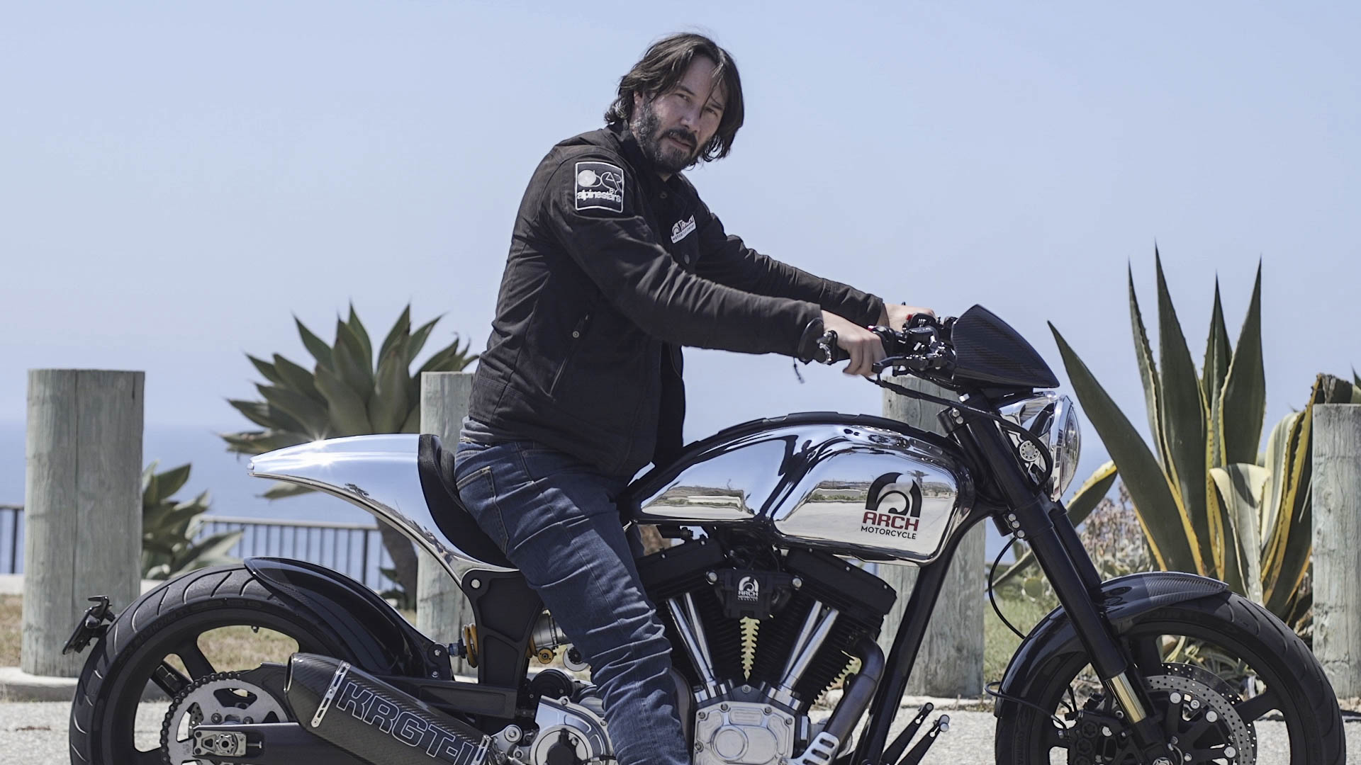 Keanu Reeves Will Build A 78 000 Arch Motorcycle Just For