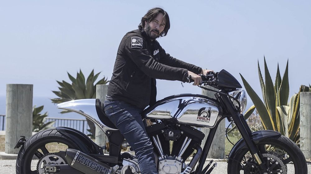 24dce258 Keanu Reeves Will Build a $78,000 Arch Motorcycle Just for You ...