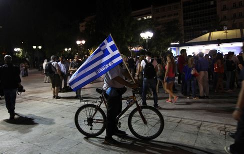 Greece Races as Cash Dwindles With Europe Seeking Austerity