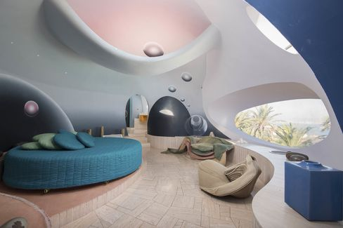 "Inside the $455 million ""Bubble Palace"" on the Côte d'Azur in France."