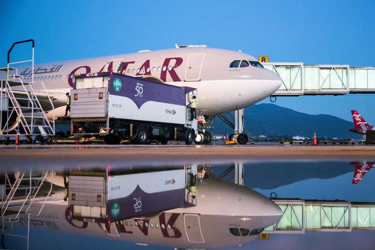 Qatar Air is adding flights to Africa as the Saudi Bank lift is shortened
