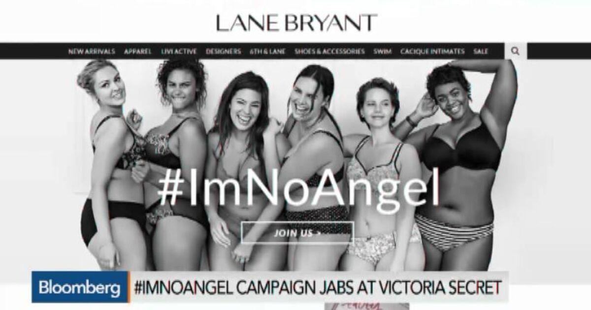 7a3b00ad39f48 Lane Bryant's #ImNoAngel Campaign Rips Victoria's Secret – Bloomberg