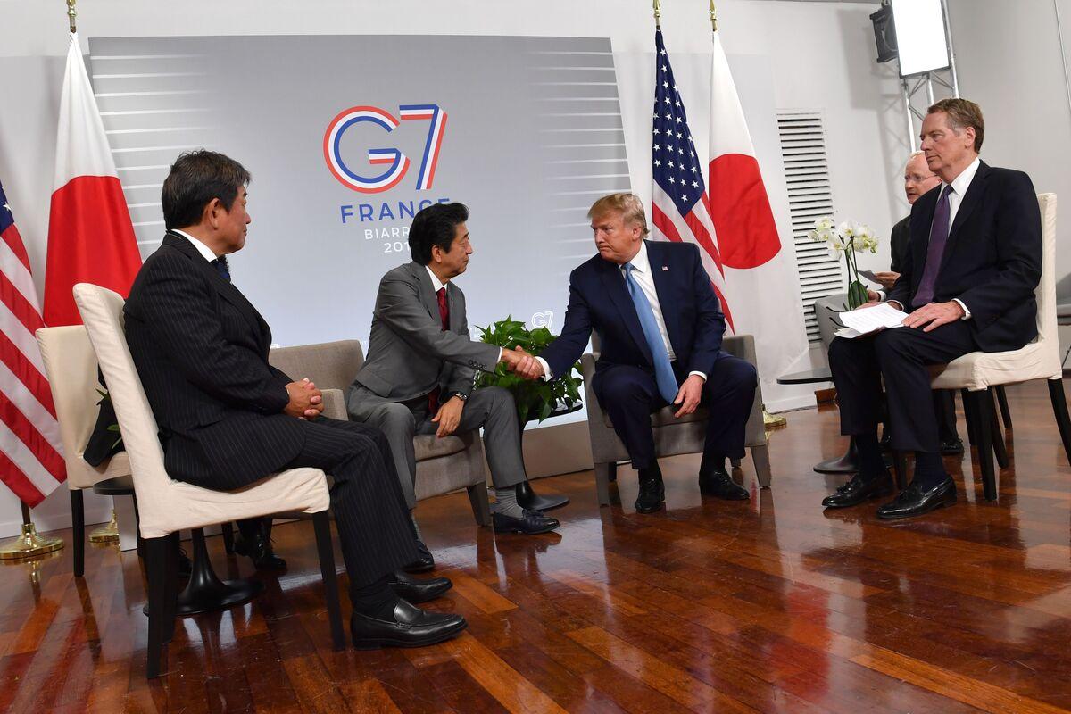 Trump Says U.S., Japan Reach Initial Agreement on Tariffs