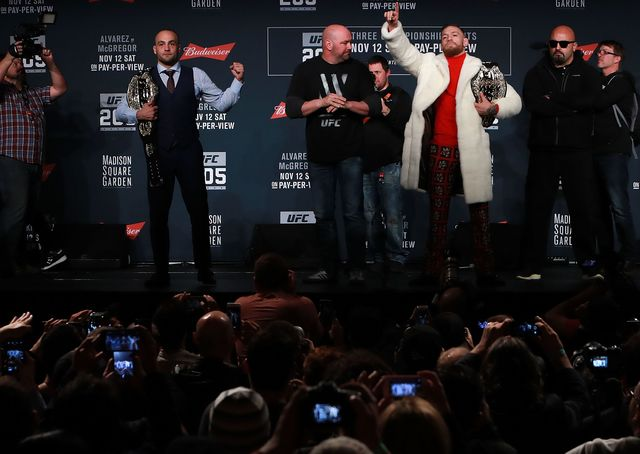 first ufc fight at the garden shatters box office record