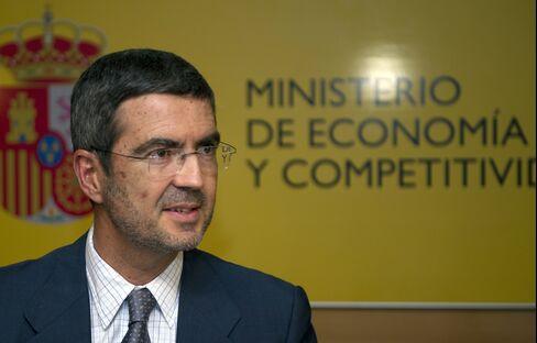 Deputy Economy Minister Fernando Jimenez Latorre