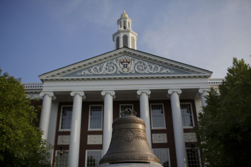 The Baker Library At Harvard University