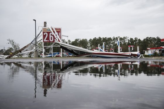 Florence's Floods Obscure Damage Inflicted on Carolinas