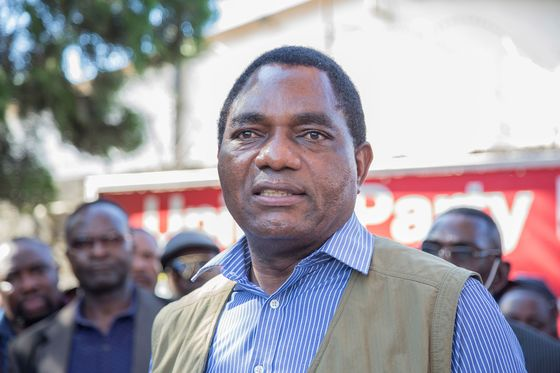 Zambian Eurobonds Jump Most in 17 Months as Lungu Concedes Polls