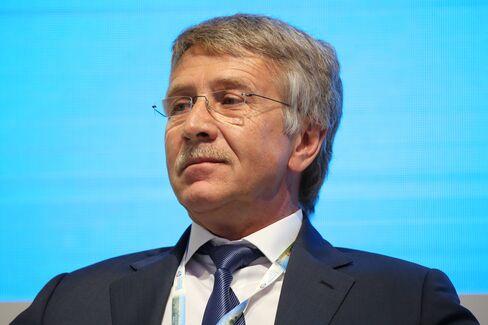 OAO Novatek Chief Executive Officer Leonid Mikhelson