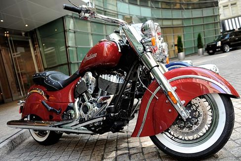Three Big Indians to Revive a Century-Old Motorcycle Brand