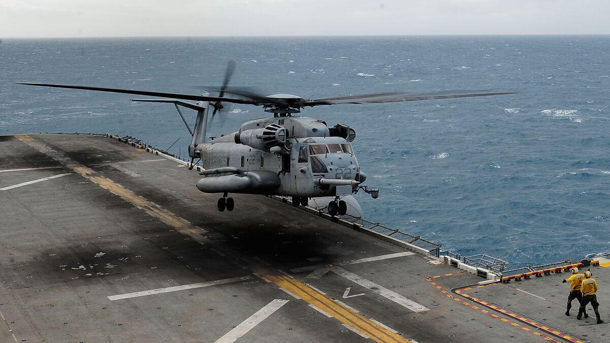 Fatal Crash of U.S. Military's Biggest Copter Blamed on Training