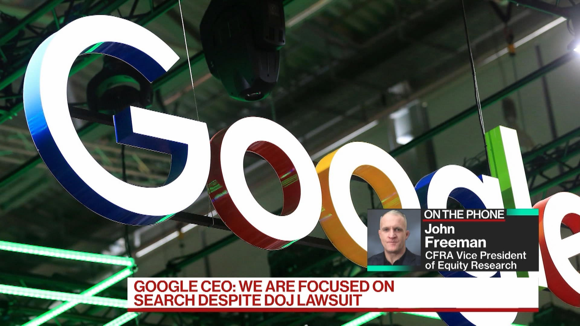 Google Search, YouTube Showed Strong Growth: CFRA's Freeman