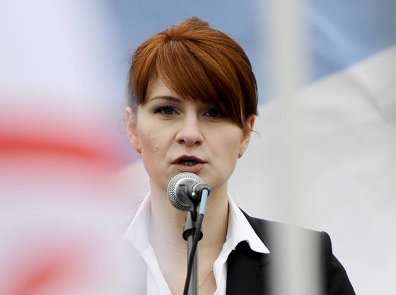 Butina Sought a Secret Kremlin Line to the U.S. A Rockefeller May Have Helped