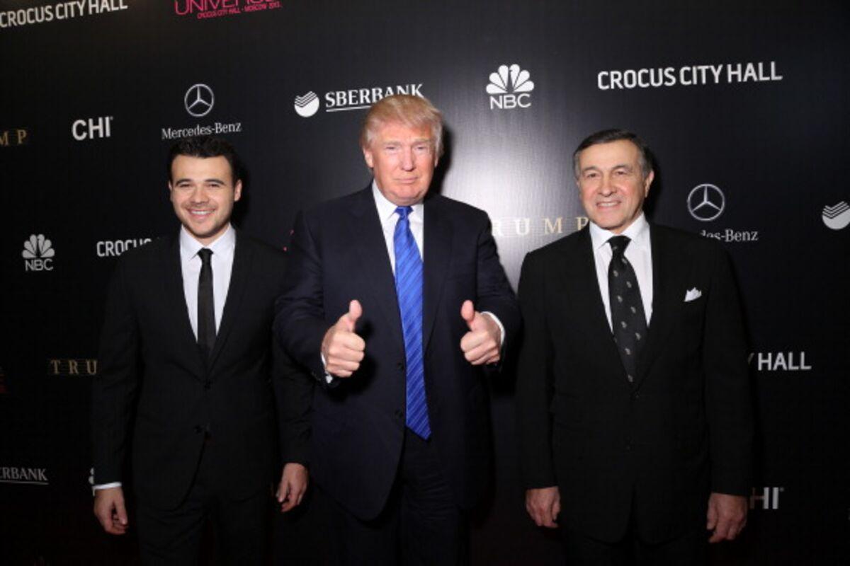 Trump's Russian Pop Star Pal Cancels U.S. Tour Over Probes