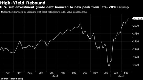 Junk Bond Rally Obscures a Gathering Storm