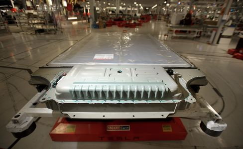 Telsa Model S Battery