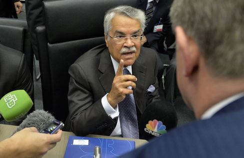 At OPEC's November meeting in Vienna, Ali al-Naimi refused to sign on to a proposed reduction in output meant to boost prices as the cartel has done in the past.