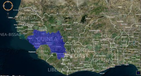 MAP: Guinea