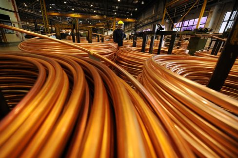 Copper Fees Surging as Supply Glut Clogs Warehouses