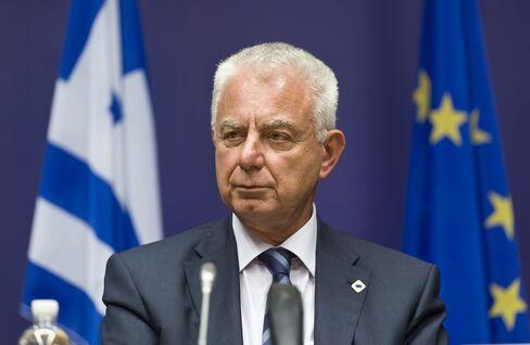 Greek Prime Minister Panagiotis Pikrammenos