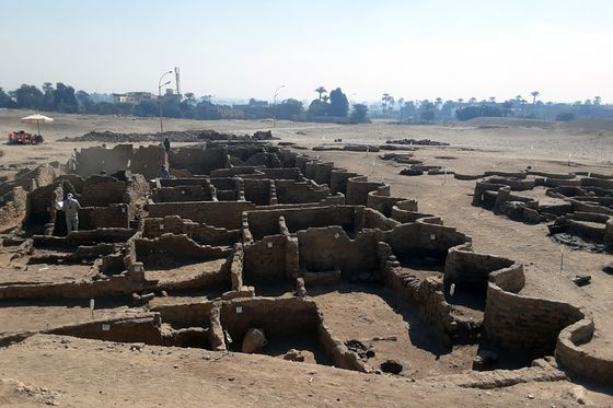 A 3,000-Year-Old 'Lost City' May Be New Boon for Egypt Tourism
