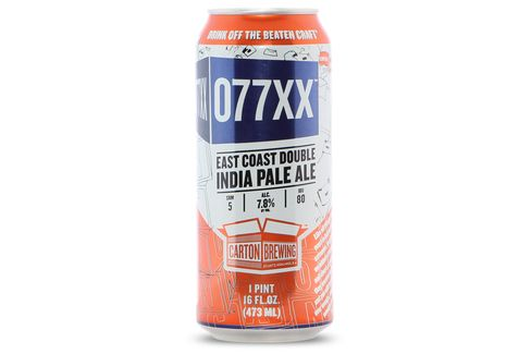 Carton Brewing's 077XX.