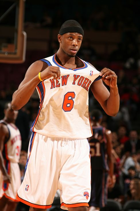 Patrick Ewing Jr. #6 of the New York Knicks