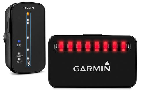Garmin's Rearview Radar head unit and tail light.