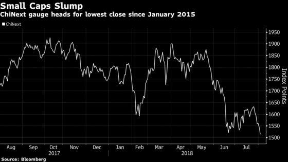 China's Stock Slump Deepens on Tariff Concern; Tencent Tumbles