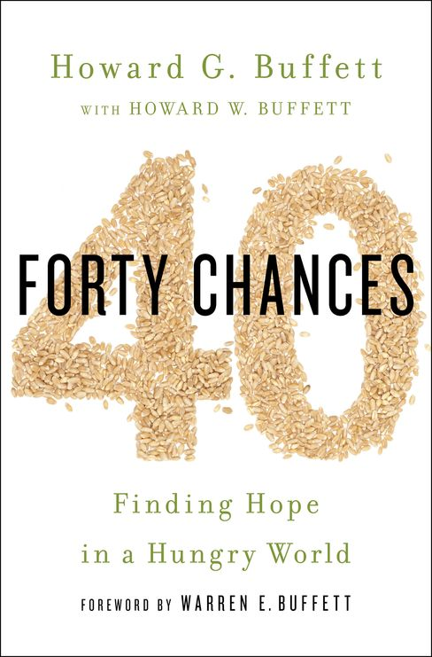 """40 Chances: Finding Hope in a Hungry World"" Book Cover"
