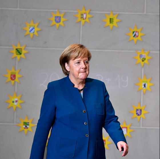 Merkel Enters Her Endgame Marking Out Defense of Global Order