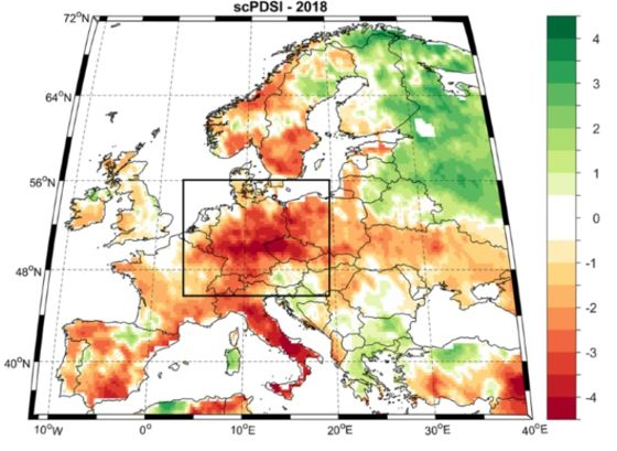 History ShowsCentral Europe Could Face Megadroughts as Earth Warms