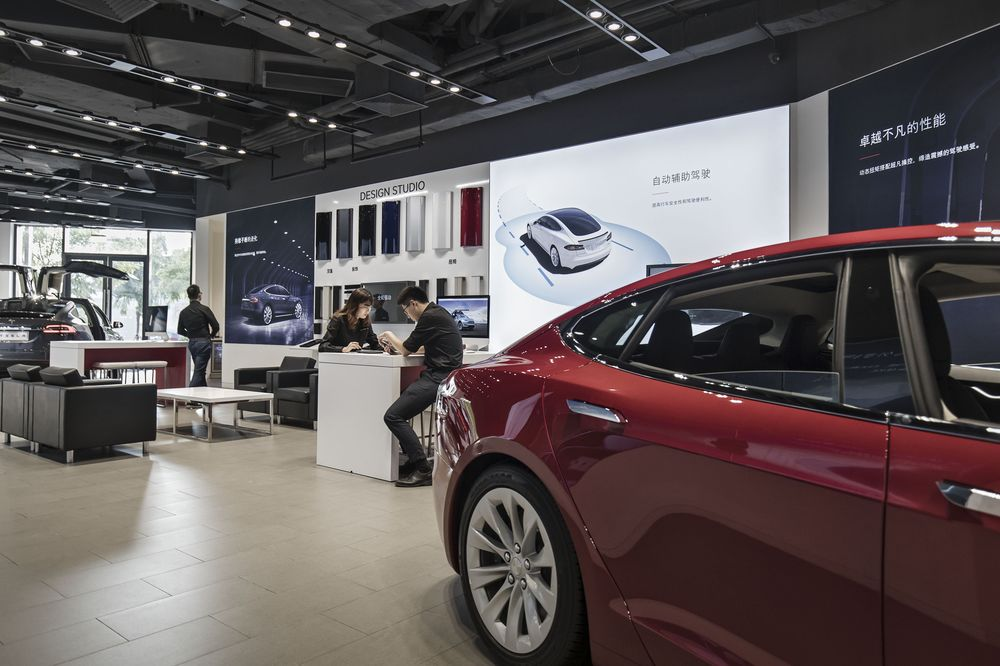 Tesla Says It Cut Prices of Vehicles Shipped to China