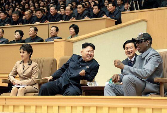 Dennis Rodman to Cheer `My Friends' Trump, Kim in Singapore