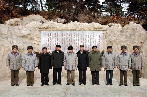 North Korean Leaders Kim Jong Il & Jang Song Thaek