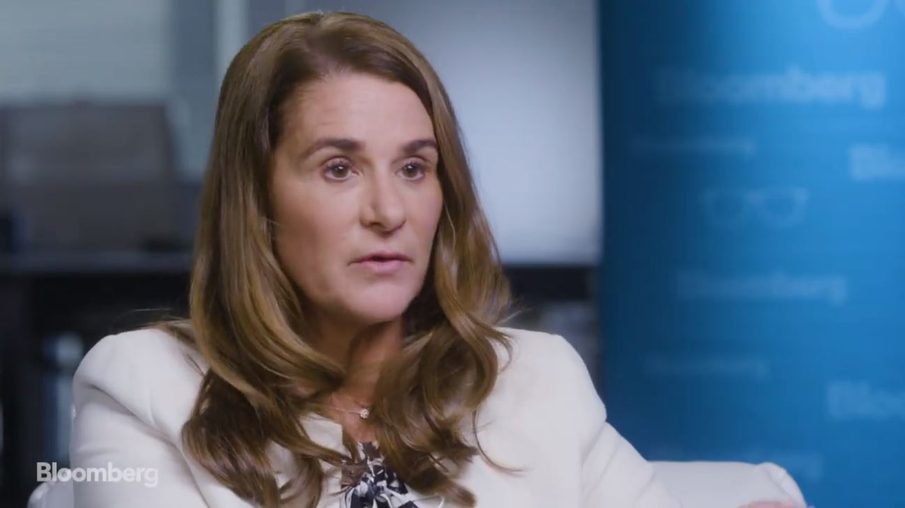 """Melinda Gates: """"We should not have this inequality"""" in the United States"""
