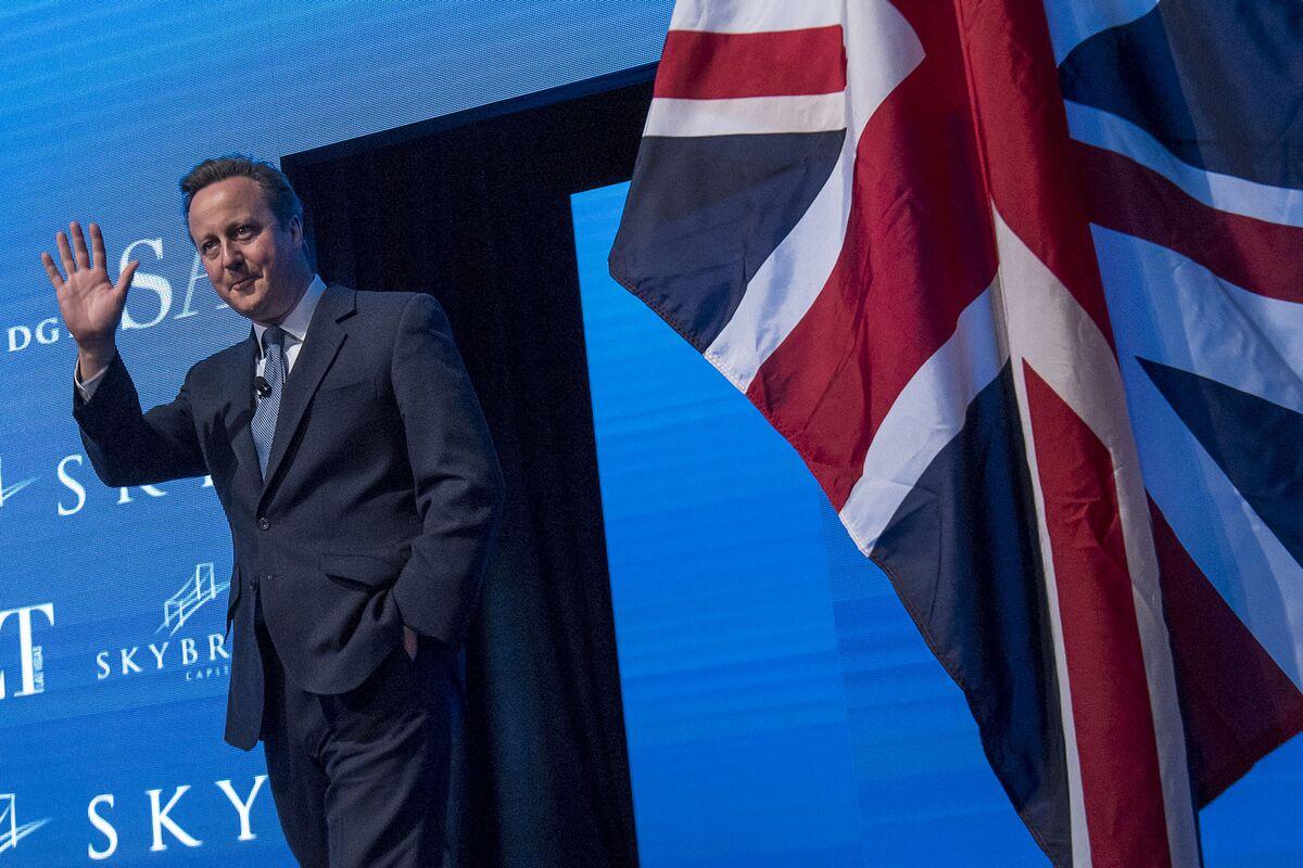 UK Prime Minister Decries Trump's Attacks on the Media