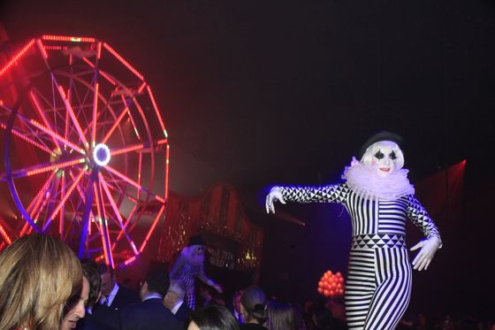 Centerview's Pruzan Gets Upstaged by Ferris Wheel at Purim Party