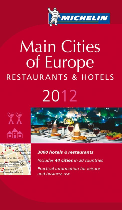 Michelin Guide, Main Cities of Europe