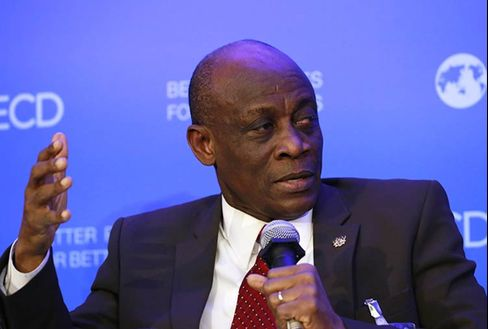 Minister for Finance and Economic Planning Seth Terkper