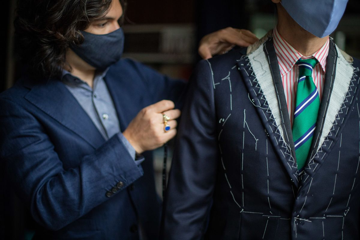 The Suit, Proclaimed Dead, Is Alive and Well for Some Tailors - Bloomberg