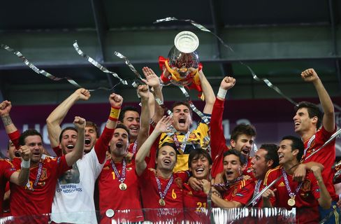 Spain v Italy - UEFA EURO 2012 Final
