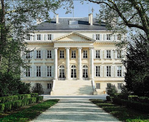 The historic Château Margaux.