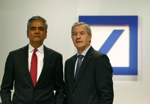 Deutsche Bank Co-CEOs Anshu Jain and Juergen Fitschen