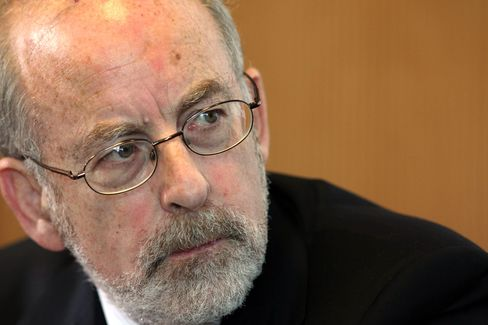 Ireland Central Bank Governor Patrick Honohan