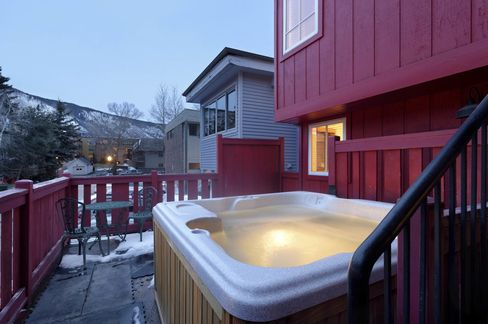 It comes with a hot tub.