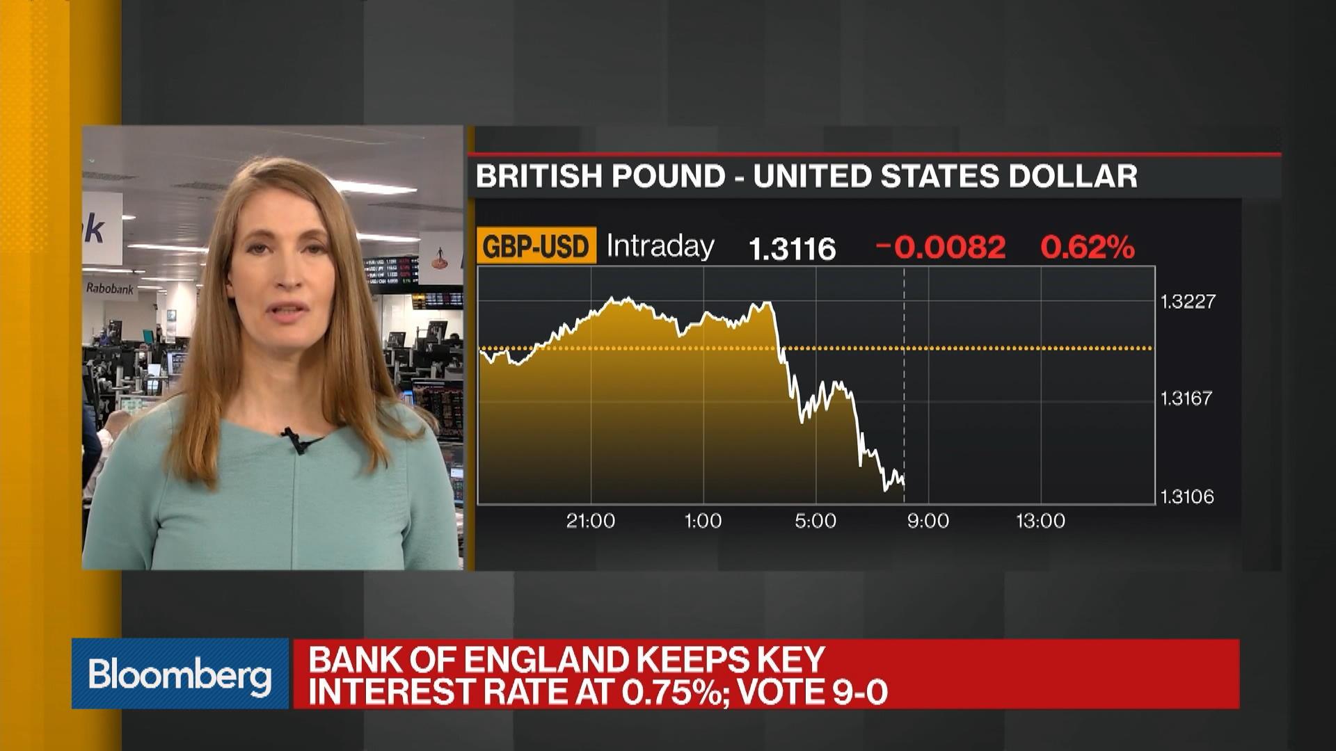Sterling Downside Reflects Market's Hard Brexit Concerns, Foley Says