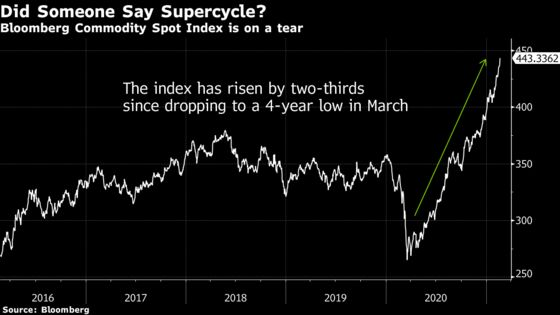 Commodities Hit Highest Since 2013 Amid Inflation Concern