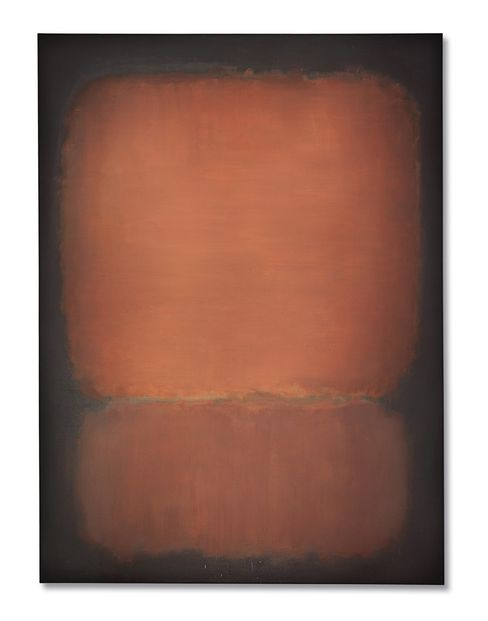"Mark Rothko's smoldering painting ""No. 10"" fetched $82.9 million at Christie's in New York."