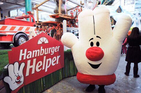 In Redesign, Hamburger Helper Drops the Hamburger
